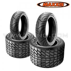 """Pack 4 pneus route : 10"""" + 10"""""""