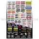 Planche Stickers - Micro Logos by FACTORY EFFEX