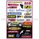 Planche Stickers - StreetBike Sponsor Logos