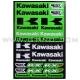 Planche Stickers A3 - KAWASAKI