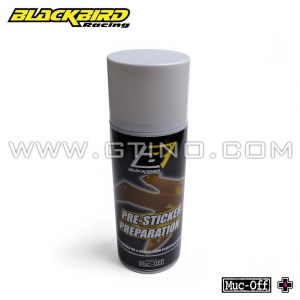Spray préparation pour collage stickers