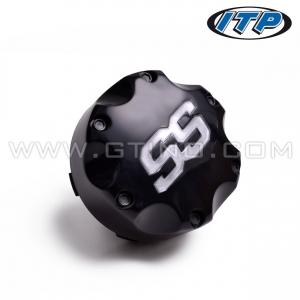 Cabochon noir de jante ITP SS112