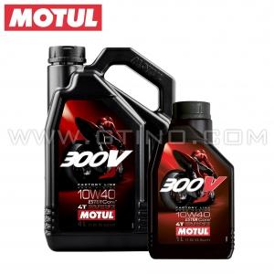 Motul 300V - 100% Synth. 10W40