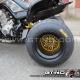 """BBS Style"" Rims Disk GTINO sur quad YAMAHA YFM Raptor 700"
