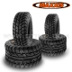 "Pack 4 pneus route : 10"" + 10"" MAXXIS Spearz"