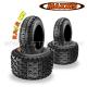 "Pack 4 pneus Cross : 10"" + 8"" RAZR MX"