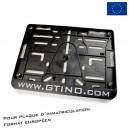 Porte plaque européen - GTINO