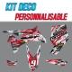 Kit déco CAMO RED - LTR 450