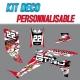 """Kit déco """"RED PAINT"""" - TRX 450"""
