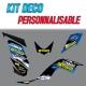 "Kit déco ""RC09"" - YFM Raptor 700"