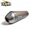 Silencieux DOMA Aluminium pour quad POLARIS OUTLAW 450