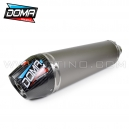 Silencieux DOMA Alu / carbone pour quad KTM ATV 450 SX / 505 SX