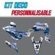 "Kit déco ""HONEYCOMB""- YFZ Raptor 450R"