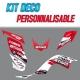 "Kit déco ""RC17-RED"" - YFM Raptor 700"