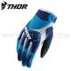 Gants MX SPECTRUM S8 Bleu - THOR