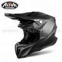 "Casque Cross ""TWIST"" Black Matt - AIROH"