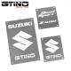 Pack Warning Labels Inox - LTZ 400