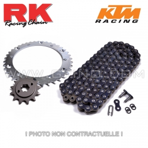 Kit pignon chaine - KTM 450