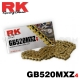 Chaine RK 520MXZ Racing - GOLD