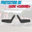 Stickers protection de cadre CARBONE - YFM 700