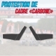 Stickers protection de cadre CARBONE - YFM 700
