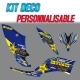 "Kit déco ""ROCKSTAR"" - YFM Raptor 250"