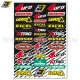 Planche Stickers - Decal Logo by BLACKBIRD RACING