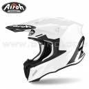 "Casque Cross ""TWIST 2.0"" White Gloss - AIROH"