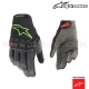 "Gants RACEFEND ""Black/Green"" - ALPINESTARS"