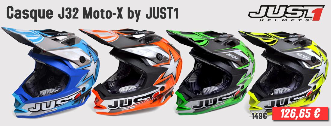 Casque de cross JUST1 Racing - J32 Moto-X
