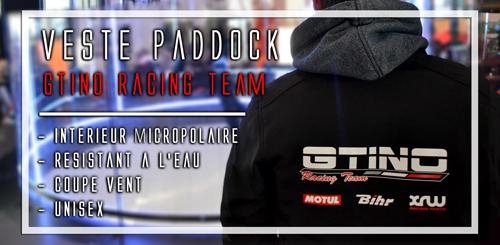 Veste de paddock GTINO Racing Team